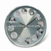 Aluminum Photo Frame Wall Clock images
