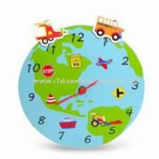 Wall Clock for Children Made of MDF Material images