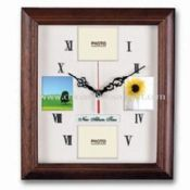 Wood Photo Frame Wall Clock images