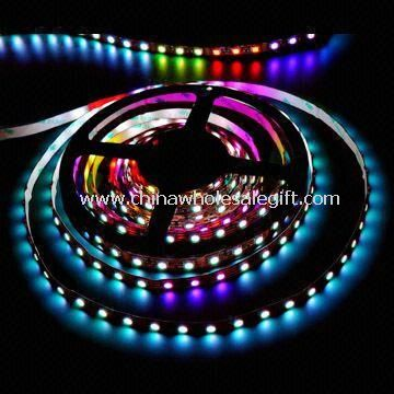 RGB Flexible Strip with 3-in1 SMD LED and Color Changing 48 LEDs/m