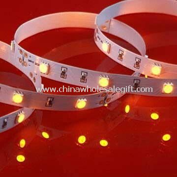SMD LED Strip Light with 3M Adhesive Back Tape Available in Warm White Color