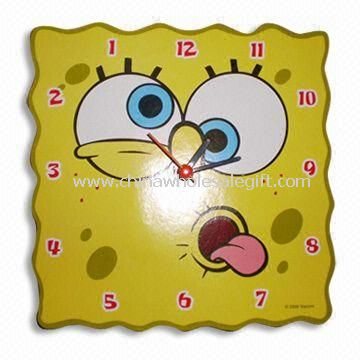 Wall Clock Suitable for Children