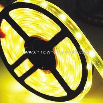 Yellow Strip Lights with IP68 Waterproof Level and 12V DC Voltage