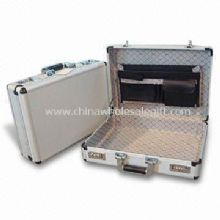 Aluminum Attache Case with White Cutting Form EVA for Small Accessory images
