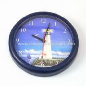 10-inch Round Wall Clock with Plastic Case and Len images