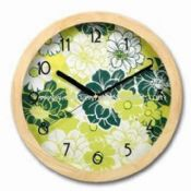 Wall Clock with Wooden Case images