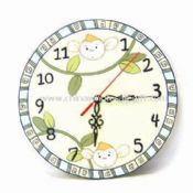 Wooden Round Clock Available with Monkey Design images