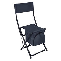 600 denier polyester with PVC coating Cooler Bag Chairs