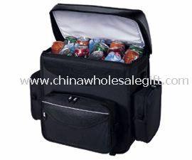 600D polyester 2 pockets Cooler Bag