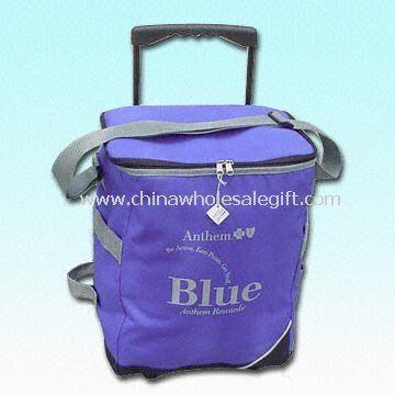 600D/PVC Cooler Bag in Light Gray Trimming Cooler Bag