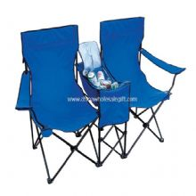 Double Beach Chair with Cooler Bag images