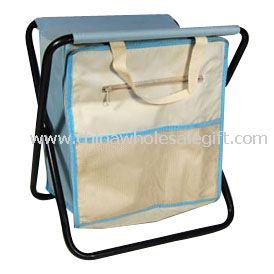 folding Picnic cooler bag metal frame chair