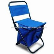 Folding Fishing Chair With Cooler Bag images