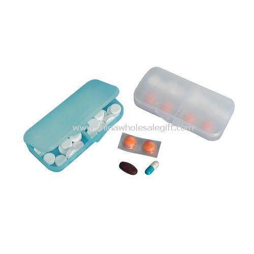 4 Days Plastic pill box