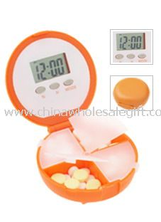 5-Group Alarm Pill Box Timer