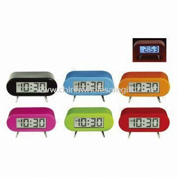LCD Clock with Backlight