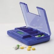 Large four compartments Pill Box Timer images