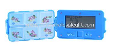 Pill Case with Alarm Reminder images