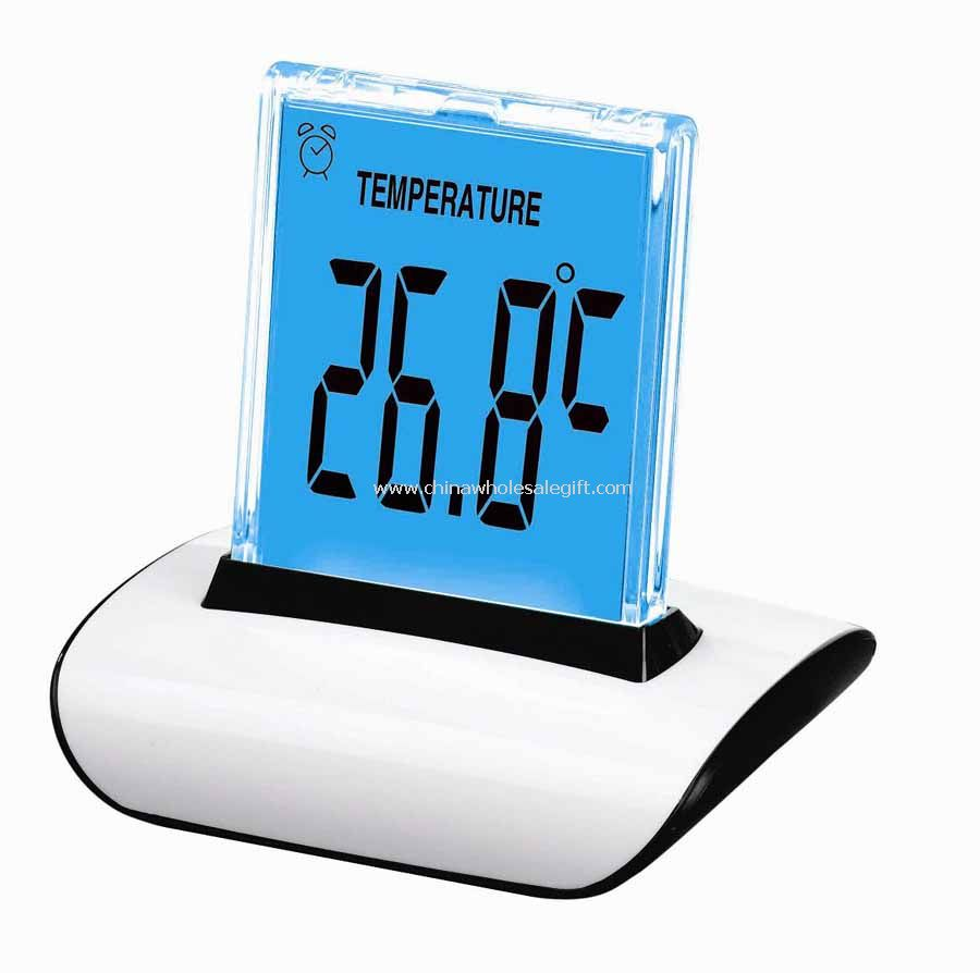 7 colors LED backlight Digital LCD Clock