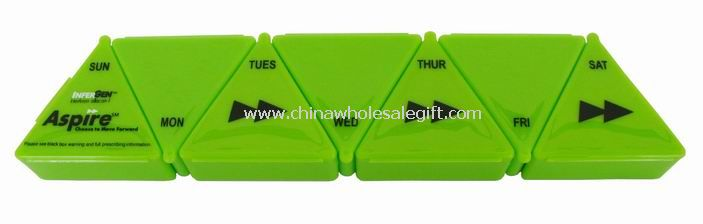 7-Day Triangular Detachable Pill Box