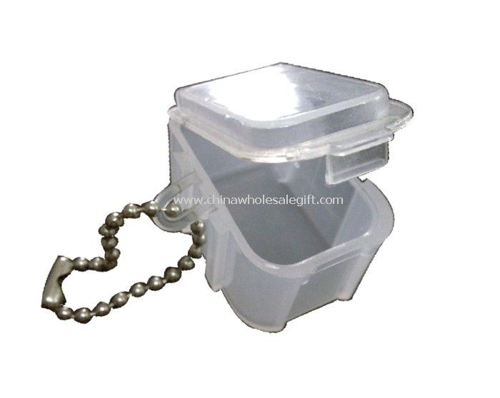 Simple Pill Box with Chain