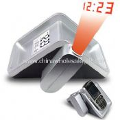 Digital LCD Projection Clock With Mobile Holder images