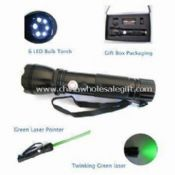 Green Laser Pointer with Flashlight images