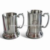 food grade 304 stainless steel Double Wall Beer Mugs images