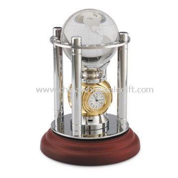 globe clock set business gifts souvenir