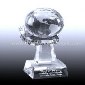 Globe on Crystal Hand Award images