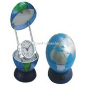 Globe reading lamp with alarm clock images