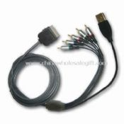 A/V Cable with Cable Length of 1.5m  Suitable for iPod/iPhone images