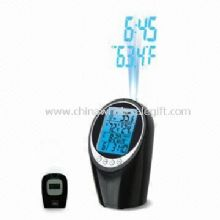 Alarm Clock with  Indoor/Outdoor Temperature Nature Sound Alarm and Remote Control images
