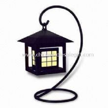 Solar LED Mood Light Antique Style with Soft Light Warm Atmosphere Generate images