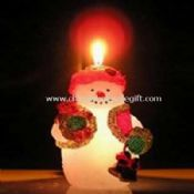 Christmas mood candle images