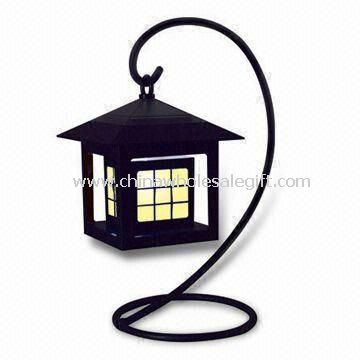 Solar LED Mood Light Antique Style with Soft Light Warm Atmosphere Generate