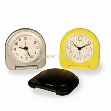 Travel Alarm Clocks Made of Plastic