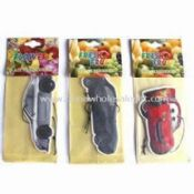 Paper Air Freshener in Various Scents and Shapes Suitable for Car Decoration images
