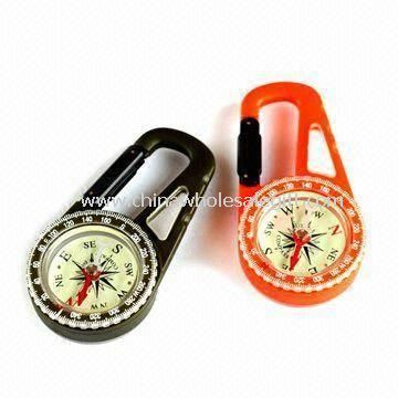 Carabiner Compass with Calendar for Outdoor Sports