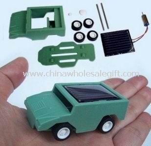 DIY Solar Car Toy