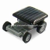 Solar Powered Racing Car with Low Power Micro Motor and Not Produced Waste images