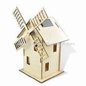 Windmill Toy with Solar Technology images