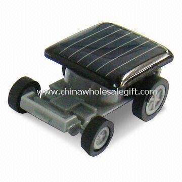 Solar Powered Racing Car With Low Power Micro Motor And