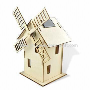 Windmill Toy with Solar Technology