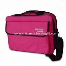 Briefcase Computer Bag with File Zipper Pocket Made of 600D Polyester images