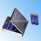 Solar Car Battery Charger for Four Pieces of AA Size Battery images
