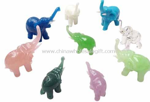 Crystal or Glass Elephant