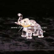 Crystal Elephant Ornament images