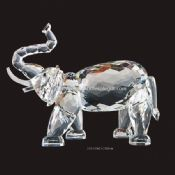 Lead crystal glass Elephant images
