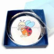 Clear Glass Paperweight in Round Shape images